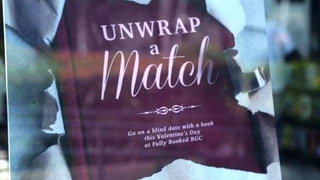 """Fully Booked """"Unwrap A Match"""" Event"""